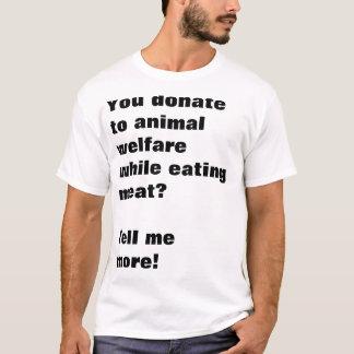 Veganer Sarkasmus T-Shirt
