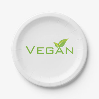 Veganer Teller