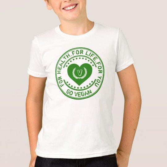 Veganer Vegetarier für Gesundheit für das Leben T-Shirt