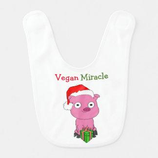 Veganer Wunder-Baby-Schellfisch Babylätzchen