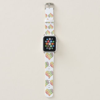 Veganes Herz-Apple-Uhrenarmband Apple Watch Armband