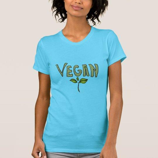 Veganes Mitteilungs-Shirt T-Shirt