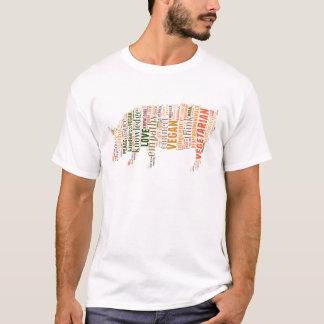 Veganes Mosaik T-Shirt