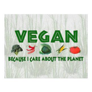 Vegans für den Planeten 21,6 X 27,9 Cm Flyer