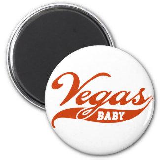 Vegas-Baby Runder Magnet 5,7 Cm