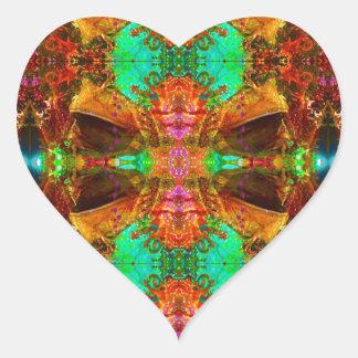 Vegas-Frosch-Muster durch Deprise Herz-Aufkleber