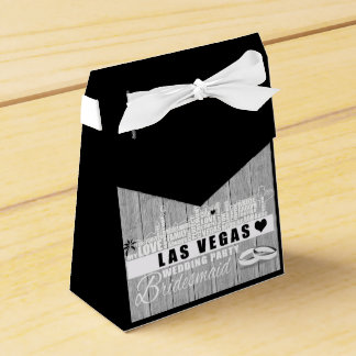 Vegas-Hochzeits-Geschenk-Ideen - schwarzes Holz Geschenkschachtel