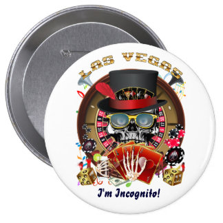 Vegas Ingognito alle Arten Ansicht-Andeutungen Anstecknadelbutton