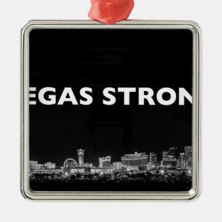 Vegas stark silbernes ornament