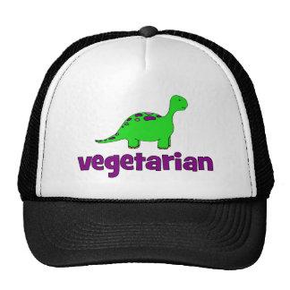 Vegetarier - Dinosaurier-Entwurf Retrokultcap