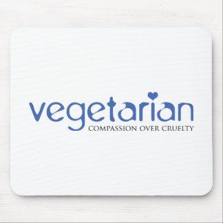 Vegetarier: Mitleid über Grausamkeit Mousepad