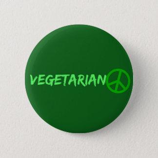Vegetarischer Knopf Runder Button 5,1 Cm