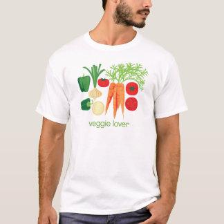 Veggie-Liebhaber-gemischtes Frischgemüse T-Shirt