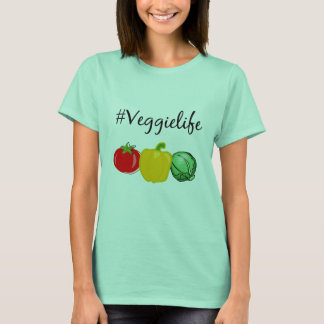 #veggielife T - Shirt