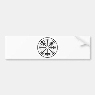 vegvisir Viking-Symbol-Skandinavier-Schild Odin Autoaufkleber