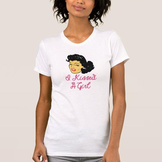 Vektor I küsste a-Mädchen T-Shirt