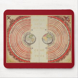 Velhos Geocentric Modell des Universums Mauspads
