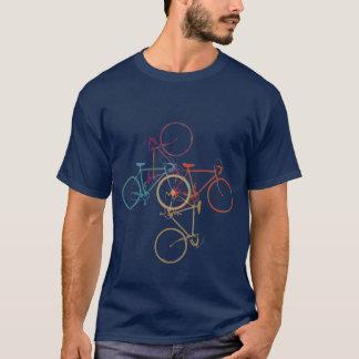 Vélo - faisant un cycle - faire du vélo t-shirt