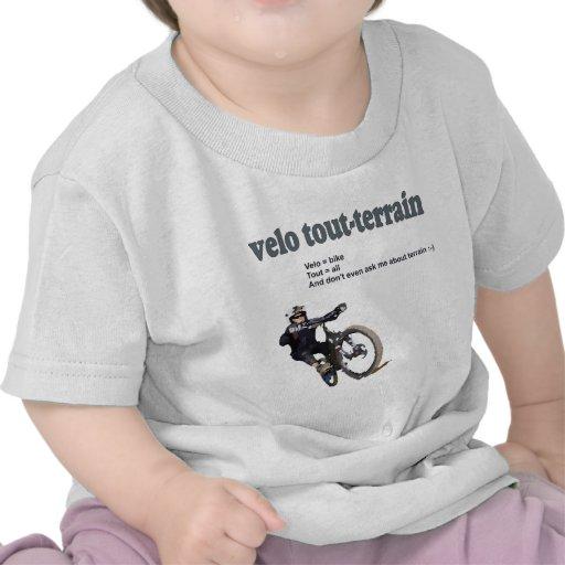 Velo Kundenwerber-Gelände Tshirt