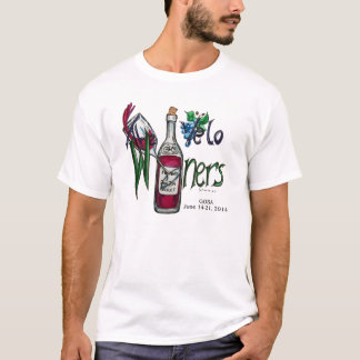 Velo Winers Radfahrer-GOBA 2014 mit NAMEN T-Shirt