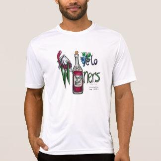 Velo Winers Radfahrer-Küstenlinie West2015 NAMEN Tshirts