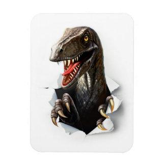 Velociraptor-Dinosaurier Flexi Magnet