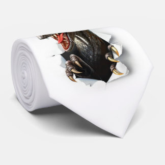Velociraptor-Dinosaurier-Krawatte Individuelle Krawatte