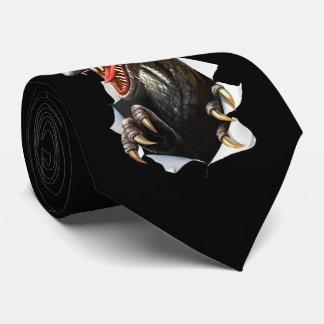 Velociraptor-Dinosaurier-Krawatte Personalisierte Krawatte