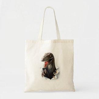 Velociraptor-Dinosaurier-Taschen-Tasche Tragetasche