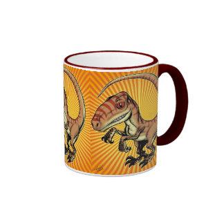 Velociraptor-Raubvogel-Dinosaurier durch Marco D Ringer Tasse