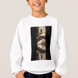 Venedig-Ansicht einer Brücke Sweatshirt
