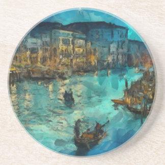 Venedig Canale groß Bierdeckel