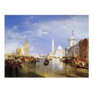 Venedig, das Dogana und San Giorgio Maggiore Postkarte