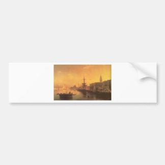 Venedig durch Iwan Aivazovsky Autoaufkleber
