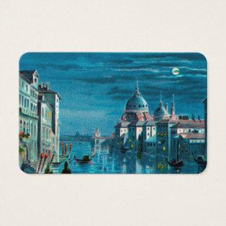Venedig durch Mondschein Visitenkarte