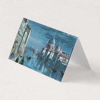 Venedig durch Mondschein Visitenkarten