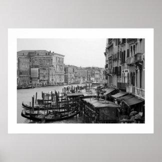 Venedig in B&W Poster