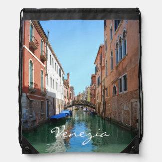Venedig-Rucksack Turnbeutel