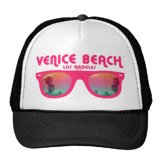 Venedig-Strand Los Angeles Truckerkappen