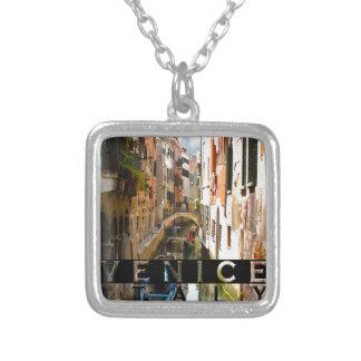 Venedig Versilberte Kette