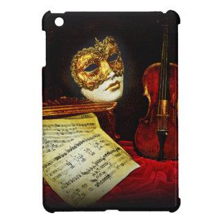 Venezianische Maskensammlung - musikalische Nacht Hülle Für iPad Mini