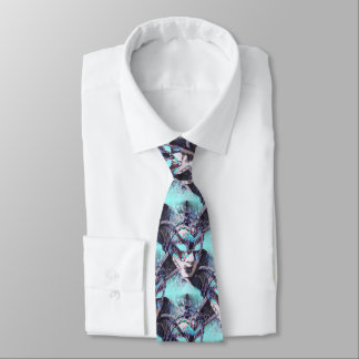 Venezianische Maskerade Individuelle Krawatten