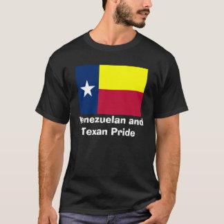Venezolanisches und der Texan-Stolz-Männer T-Shirt