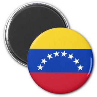 Venezuela Runder Magnet 5,1 Cm