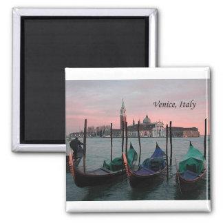 Venise, Italie 2 (par St.K.) Magnet Carré