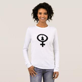 Venus-Viola Langarm T-Shirt
