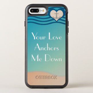 Verankern Sie Liebe OtterBox Apple iPhone 7 OtterBox Symmetry iPhone 7 Plus Hülle