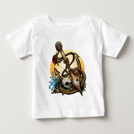 Verankert Baby T-shirt