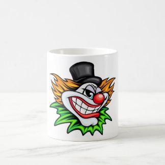 Verärgerter Clown Deisgn Kaffeetasse