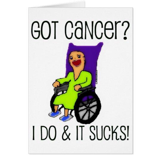 Verärgerter Patient erhielt Krebs Grußkarte